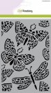 CraftEmotions A5 Mask Stencil - Butterfly Large