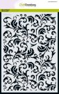 CraftEmotions A5 Mask Stencil - Baroque