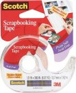 Scotch Scrapbooking Tape Double-Sided Removable