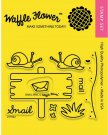 Waffle Flower Crafts Clear Stamps - Snail Mail