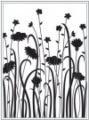 Darice Embossing Folder - Dainty Wildflowers
