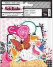 Vicki Boutin On The Edge Paper Embellishments - All The Good Things (36 pack)
