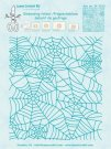 LeCrea Embossing Folder - Background Spider Web