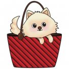 Imaginisce Snag Em Clear Stamp - Purse Dog