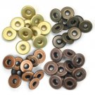 We R Memory Keepers - Warm Metal Wide Eyelets (40 pack)