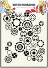 Dutch Doobadoo A5 Mask Art Stencil - Fine Gears
