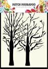 Dutch Doobadoo A6 Mask Art Stencil - Fine Trees