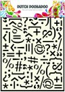 Dutch Doobadoo A5 Mask Art Stencil - Punctuation Marks