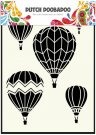 Dutch Doobadoo A5 Mask Art Stencil - Airballoons Multi