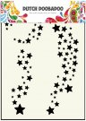 Dutch Doobadoo A5 Mask Art Stencil - Stars