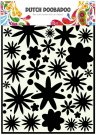 Dutch Doobadoo A4 Mask Art Stencil - Flower Power