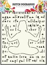 Dutch Doobadoo A4 Mask Art Stencil - Yoga