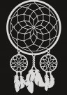 Pronty A4 Mask Stencil - Dream Catcher