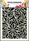Dutch Doobadoo A5 Mask Art Stencil - Flower Swirl