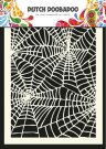 Dutch Doobadoo A5 Mask Art Stencil - Spiderweb