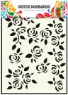 Dutch Doobadoo A5 Mask Art Stencil - Roses