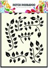 Dutch Doobadoo A5 Mask Art Stencil - Leaves Branch