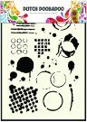 Dutch Doobadoo A5 Mask Art Stencil - Geometric Tiles