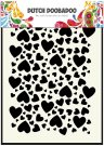 Dutch Doobadoo A5 Mask Art Stencil - Hearts