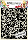 Dutch Doobadoo A5 Mask Art Stencil - Bubbles