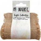49 & Market - Burlap Ribbon Roll Natural (10cm x 1m)