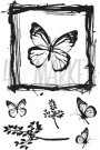 49 & Market Clear Stamps - Gerry's Butterflies