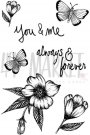 49 & Market Clear Stamps - Valerie's Always & Forever