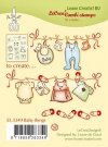 Leane Creatief Clear Stamp - Combi Baby Things