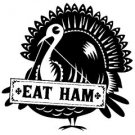 Inkadinkado Clear Stamp - Mini Eat Ham Turkey