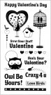 Inkadinkado Clear Stamp Set - Inkadinkado Clear Stamp Set - Valentine Favorites