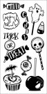 Inkadinkado Clear Stamps - Halloween Treats