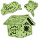 Inkadinkado Inkadinkaclings Stamps - Birds House