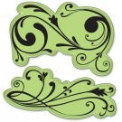Inkadinkado Inkadinkaclings Stamps - Flourish Filigree