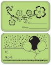 Inkadinkado Inkadinkaclings Stamps - Gift Tags