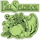 Inkadinkado Inkadinkaclings Stamp - Fall Splendor