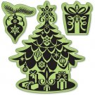 Inkadinkado Inkadinkaclings Stamps - Christmas Tree