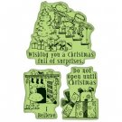 Inkadinkado Inkadinkaclings Stamps - Christmas Surprise