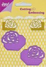 Joy Crafts Cutting & Embossing Dies - Rose Corners