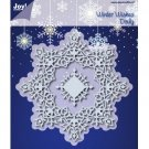 Joy Crafts Dies - Winter Wishes Doily