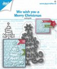 Joy Crafts Cutting Dies - We Wish You Christmas Tree