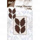 Joy Crafts Dies - Vintage Flourishes Holly