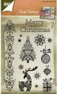 Joy Crafts Clear Stamp Set - Merry Christmas