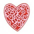 Sizzix Embosslits Die - Heart, English Rose