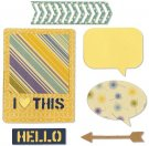 Sizzix Thinlits Die Set - I Heart This By Hampton Art