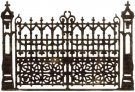 Sizzix Thinlits Die - Gothic Gate by Tim Holtz