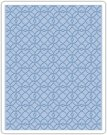 Sizzix Texture Fades Embossing Folder - Latticework by Tim Holtz