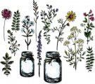 Sizzix Thinlits Die Set - Flower Jar by Tim Holtz (20 dies)