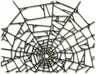 Sizzix Thinlits Die - Cobweb by Tim Holtz