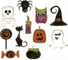 Sizzix Thinlits Die Set - Mini Halloween Things by Tim Holtz (11 pack)