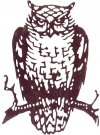 Sizzix Thinlits Die - Ornate Owl by Tim Holtz